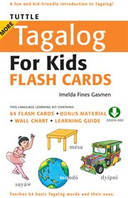 More Tagalog for Kids Flash Cards