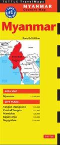 Myanmar Travel Map