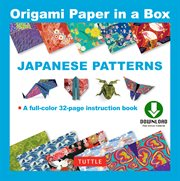 Origami Paper - Japanese Patterns (Downloadable Material Included)