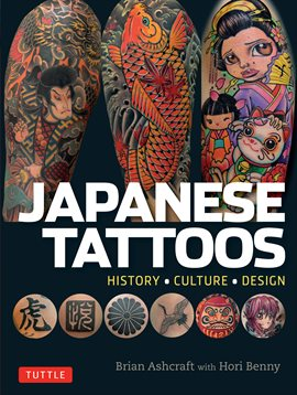 Japanese Tattoos, book cover
