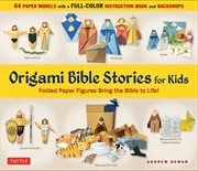 Origami bible stories for kids ebook cover image