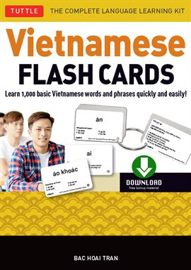 Cover image for Vietnamese Flash Cards Ebook