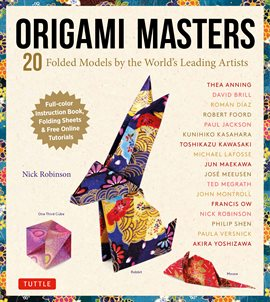 Cover image for Origami Masters Ebook