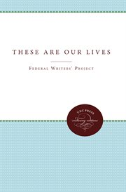These are our lives: stories cover image