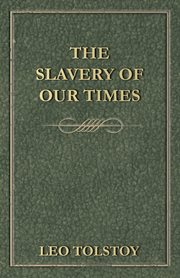 Slavery Of Our Times
