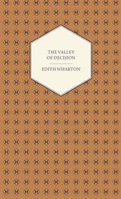 The valley of decision: a novel cover image