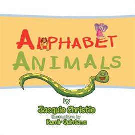 Cover image for Alphabet Animals