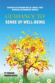 Guidance to sense of well-being cover image