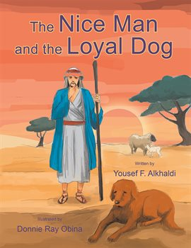 Cover image for The Nice Man and the Loyal Dog