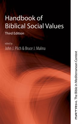Cover image for Handbook of Biblical Social Values