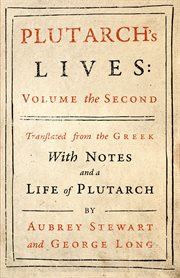 Plutarch's lives. Vol. II cover image