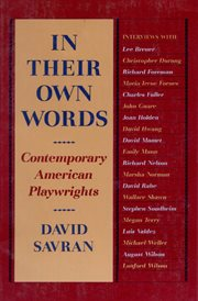 In Their Own Words: Contemporary American Playwrights cover image