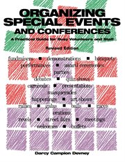 Organizing Special Events and Conferences