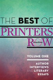The Best Of Printers Row, Volume One
