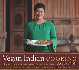 Cover image for Vegan Indian Cooking