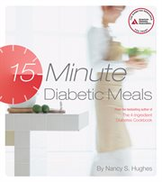 15-minute diabetic meals cover image