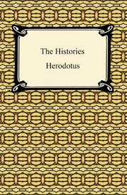 The histories of Herodotus : in two volumes cover image