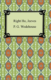 Right ho, Jeeves cover image