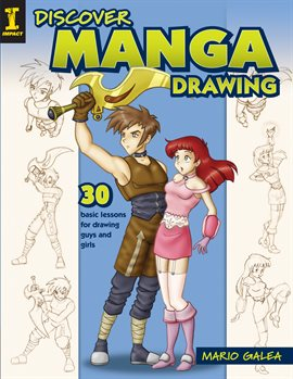 Cover image for Discover Manga Drawing