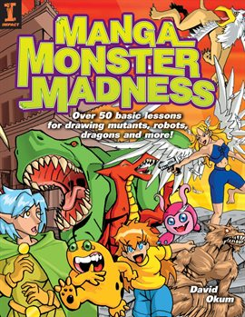 Cover image for Manga Monster Madness