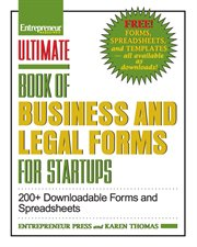 Ultimate Book of Business and Legal Forms for Startups