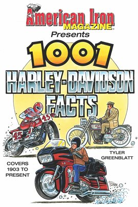 Cover image for American Iron Magazine Presents 1001 Harley-Davidson Facts
