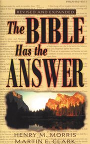 The Bible has the answer cover image