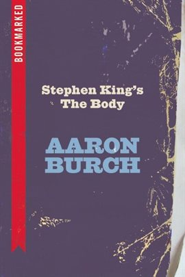 Cover image for Stephen King's The Body