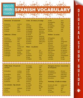 Cover image for Spanish Vocabulary