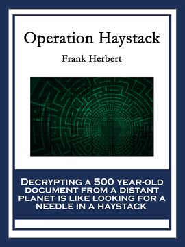 Cover image for Operation Haystack