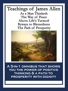 Cover image for Teachings of James Allen