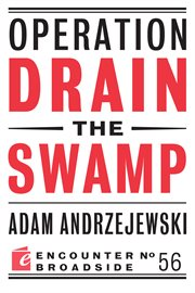 Operation Drain the Swamp
