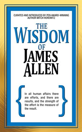 Cover image for The Wisdom of James Allen