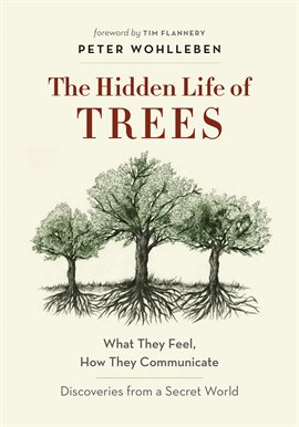 The Hidden Life of Trees Book Cover
