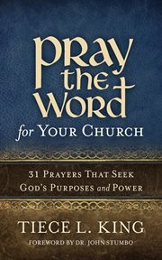 Pray the word for your church cover image