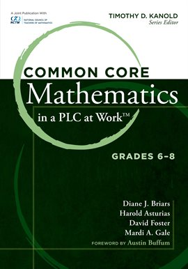 Cover image for Common Core Mathematics in a PLC at Work, Grades 6-8
