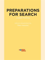 Preparations For Search