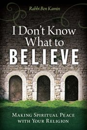 I Don't Know What to Believe cover image