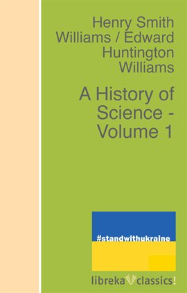 Cover image for A History of Science - Volume 1