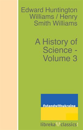 Cover image for A History of Science, Volume 3