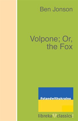 Cover image for Volpone; Or, the Fox
