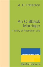 An outback marriage cover image