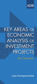 Key Areas of Economic Analysis of Investment Projects
