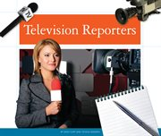 Television reporters cover image
