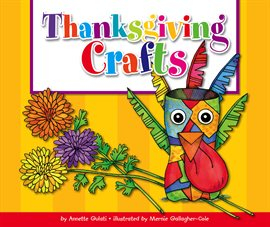 Thanksgiving Crafts, book cover