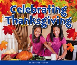 Celebrating Thanksgiving, book cover