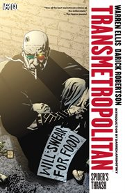 Transmetropolitan. Volume 7, issue 37-42, Spider's thrash cover image