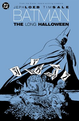 Batman: The Long Halloween, book cover
