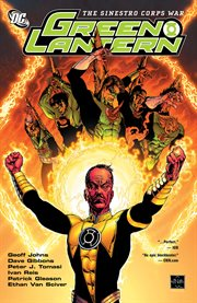 Green Lantern. The Sinestro Corps war cover image