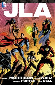 JLA. Volume 3, issue 18-31. World War III cover image